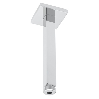 "Rohl 1510-6-APC 6 3/8"" Modern Square Ceiling Mount Shower Arm With Finish: Polished Chrome"