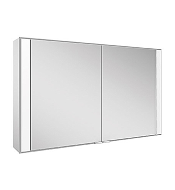 Keuco 22102171351 Royal 60 Surface Mount Mirror Cabinet with Silver Anodized Body Finish