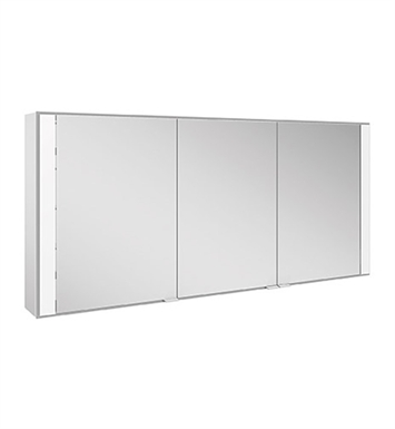 Keuco 22103171351 Royal 60 Surface Mount Mirror Cabinet with Silver Anodized Body Finish
