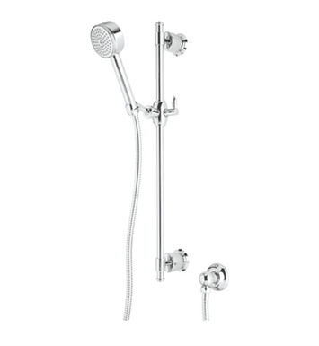 Rohl 1320E-TCB Michael Berman Anti-Cal Handshower Set With Finish: Tuscan Brass <strong>(SPECIAL ORDER, NON-RETURNABLE)</strong>