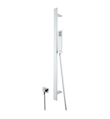Rohl 1340-PN Modern Rectangular Shower Set With Finish: Polished Nickel