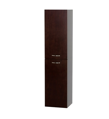 [DISABLED]Accara Modern Linen Side Cabinet by Wyndham Collection in Espresso