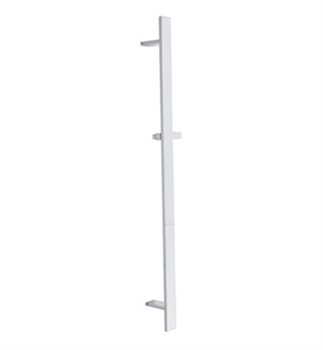 Rohl 1210-STN Modern Flat Shower Bar With Finish: Satin Nickel