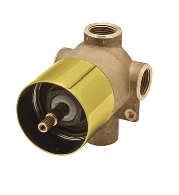 Rohl AC27IB-BO 4-Port, 3-Way Diverter Rough Only in Inca Brass