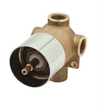 Rohl AC27PN-BO 4-Port, 3-Way Diverter Rough Only in Polished Nickel