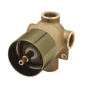 Rohl AC27TCB-BO 4-Port, 3-Way Diverter Rough Only in Tuscan Brass