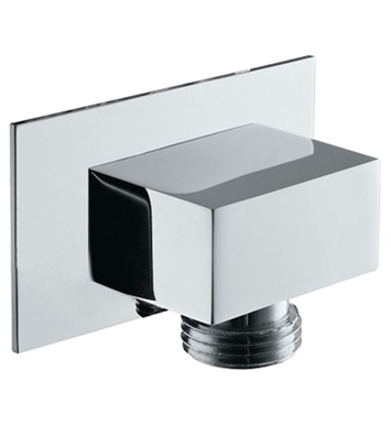 Rohl 1795-STN Modern Square Handshower Wall Outlet With Finish: Satin Nickel