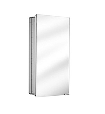 Keuco 25514001250 Royal K1 Mirror Cabinet with Silver Anodized Body Finish - No Lighting