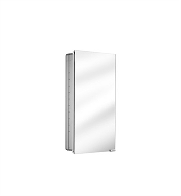 Keuco 25514000250 Royal K1 Lighted Mirror Cabinet with Silver Anodized Body Finish
