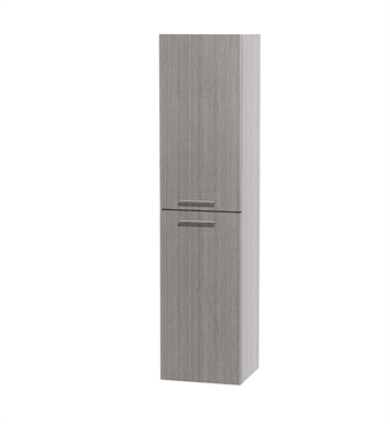 [DISABLED]Bailey Wall Cabinet by Wyndham Collection in Grey Oak