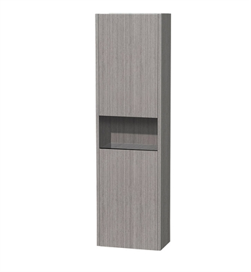 [DISABLED]Diana Wall Cabinet by Wyndham Collection in Grey Oak