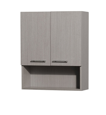 [DISABLED]Centra Wall Cabinet by Wyndham Collection in Grey Oak