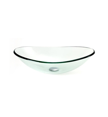 DreamLine DLBG-01 Glass Vessel Sink