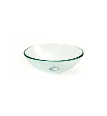 DreamLine DLBG-08 Glass Vessel Sink