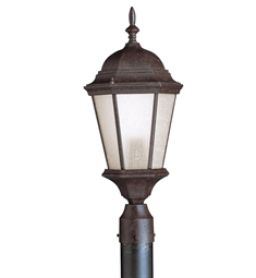 Kichler Outdoor Post Mount 1 Light in Tannery Bronze