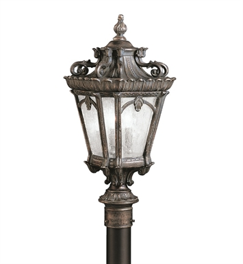 Kichler 9559LD Tournai Collection Outdoor Post Mount 4 Light in Londonderry