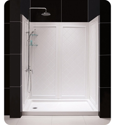 DreamLine Qwall5-DL-61 Qwall-5 Shower Base and Backwall Kit