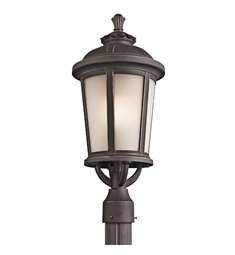 Kichler Ralston Collection Outdoor Post Mount 1 Light in Rubbed Bronze