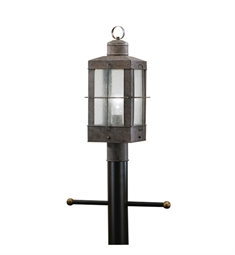 Kichler Concord Collection Outdoor Post Mount 1 Light in Olde Brick