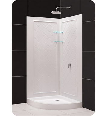 DreamLine DL-618 Qwall-4 Shower Base and Backwall Kit