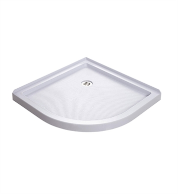 "DreamLine DLT-7038380 Slimline Shower Base Quarter Round With Base Size: D 38"" x W 38"" x H 2-3/4"""