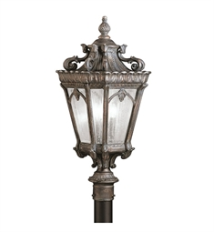Kichler Tournai Collection Outdoor Post Mount 3 Light in Londonderry