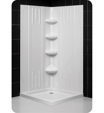DreamLine Qwall2-DL-613 Qwall-2 Shower Base and Backwall Kit