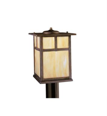 Kichler 9953CV Alameda 1 Light Incandescent Outdoor Post Mount Lantern in Canyon View