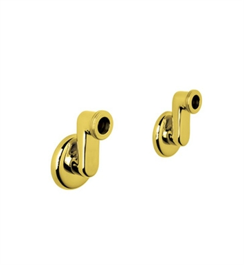 Rohl ZZ9314302IB Cisal Arcana Set Of 2 Wall Unions in Inca Brass