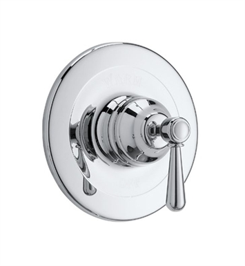 Rohl ARB1400XM-IB Verona Pressure Balance Trim Without Diverter With Finish: Inca Brass <strong>(SPECIAL ORDER, NON-RETURNABLE)</strong> And Handles: Verona Metal Cross Handles