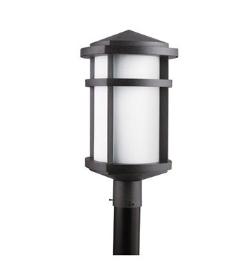 Kichler 9967GNT Outdoor Post Mount 1 Light in Textured Granite