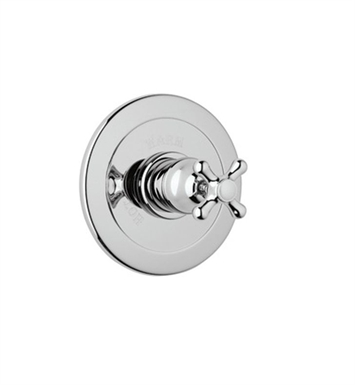 Rohl ARB6400XM-STN Verona Pressure Balance Trim Without Diverter With Finish: Satin Nickel And Handles: Verona Metal Cross Handles