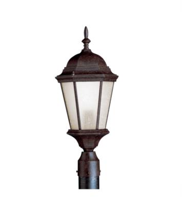 Kichler 10956TZ Madison 1 Light Compact Fluorescent Outdoor Post Mount Lantern in Tannery Bronze