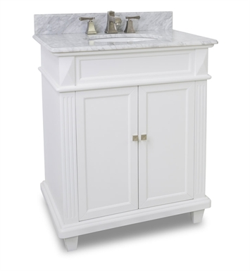 Hardware Resources VAN094-30-T-MW Traditional Bathroom Vanity by Bath Elements