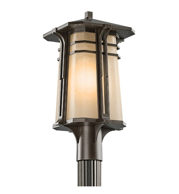 Kichler 49178OZ Outdoor Post Mount 1 Light in Olde Bronze
