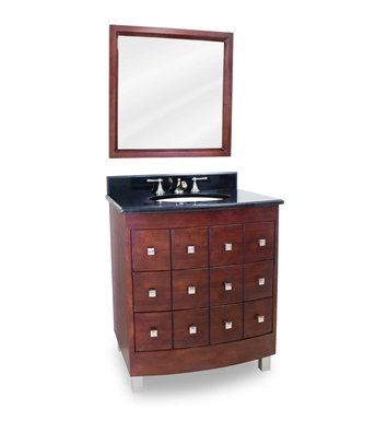 Hardware Resources VAN038-T Chelsea Metro Vanity with Preassembled Top and Bowl by Lyn Design