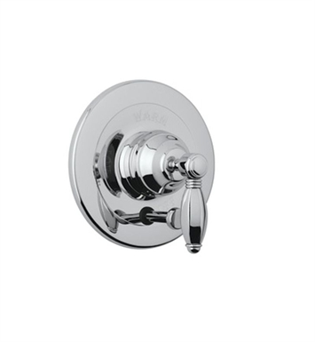 Rohl A2400LP-APC Viaggio Pressure Balance Trim With Diverter With Finish: Polished Chrome And Handles: Porcelain Lever Handles