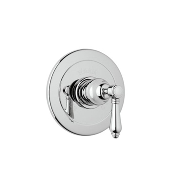 Rohl A6400LP-APC Viaggio Pressure Balance Trim Without Diverter With Finish: Polished Chrome And Handles: Porcelain Lever Handles