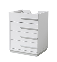 "Fresca FCB8024WH Livello 24"" White Bathroom Cabinet"