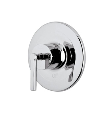 Rohl A2200LM-APC Lombardia Pressure Balance Trim Without Diverter With Finish: Polished Chrome And Handles: Lombardia Metal Lever Handles