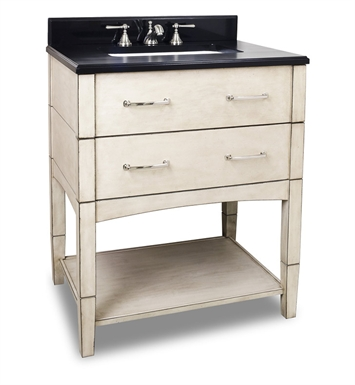 Hardware Resources VAN086-T Concord Contemporary Vanity with Preassembled Top and Bowl by Lyn Design