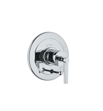 Rohl A7200XM-PN Lombardia Integrated Pressure Balance Trim With Diverter With Finish: Polished Nickel And Handles: Lombardia Cross Handles