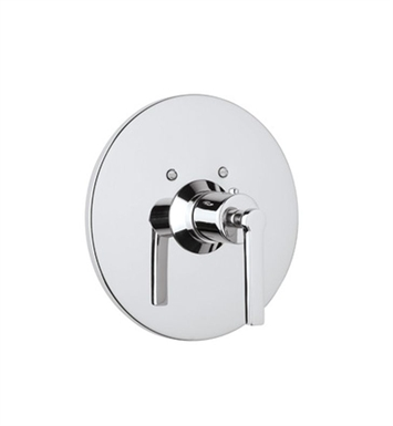 Rohl A4214LM-IB Lombardia Trim Only For Thermostatic/Non-Volume Controlled Valve With Finish: Inca Brass <strong>(SPECIAL ORDER, NON-RETURNABLE)</strong> And Handles: Lombardia Metal Lever Handles