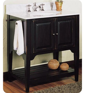 "Fairmont Designs 168-V30BK American Shaker 30"" Traditional Bathroom Vanity"