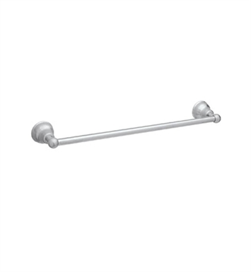 "Rohl CIS1-24-STN Verona 24"" Single Towel Bar With Finish: Satin Nickel"