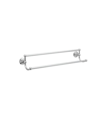"Rohl ROT20-24-APC Viaggio Country 24"" Double Towel Bar With Finish: Polished Chrome"