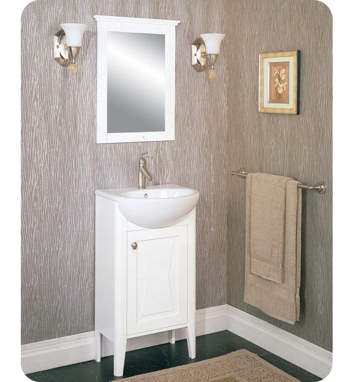 Fairmont designs 102 v20 bowtie 20 modern bathroom vanity - Bathroom vanity and mirror combo ...