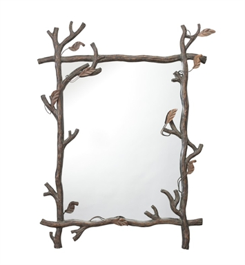 "Kichler 78174 Catskill 40"" High Rectangular Mirror"