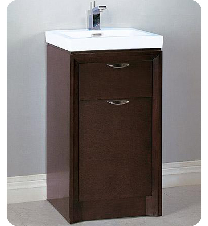 110 V18 Fairmont Designs Caprice 18 Modern Bathroom Vanity And Sink Set