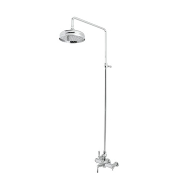 Rohl AKIT29172XM-APC Verona Exposed Thermostatic Shower Package With Finish: Polished Chrome And Handles: Verona Metal Cross Handles